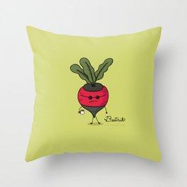Beetnik Throw Pillow