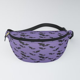 Batty purple Fanny Pack
