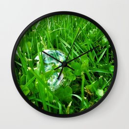 There Is Luck Around You Wall Clock