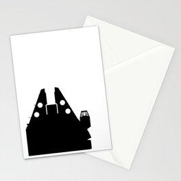 Millennium Falcon - Black Stationery Cards