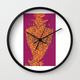 Raspberry Wall Clock
