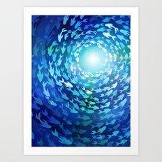 Aquatics Art Print