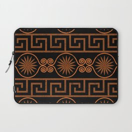 Ornate Greek Bands Laptop Sleeve