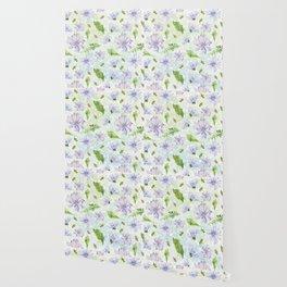 chicory - pattern Wallpaper