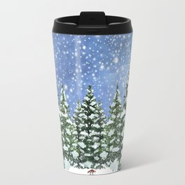 A Winter's Night Travel Mug