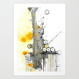Structure II Art Print