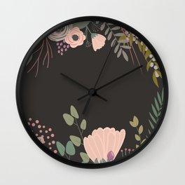 Give Me Mauve Wall Clock