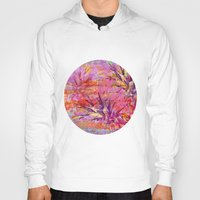 fruits Hoodies featuring Tropical Fruits by LebensART