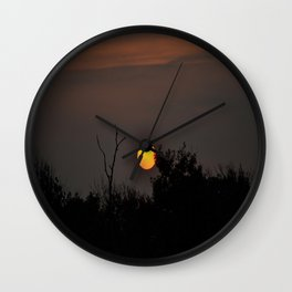The Music of the Night Wall Clock