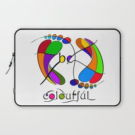 Trapsanella - be colourful Laptop Sleeve