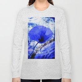 Blue Poppy vintage 222 Long Sleeve T-shirt