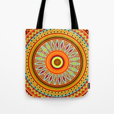 Mandala Aztec Pattern 5 Tote Bag