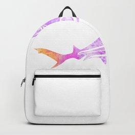 Abstract Hammerhead Shark Backpack