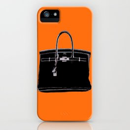 FRENCH CLASSIC BAG iPhone Case