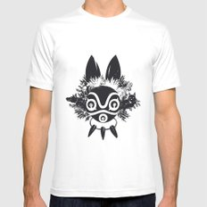 MONONOKE SMALL White Mens Fitted Tee