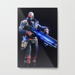 Soldier 76 v1 Metal Print