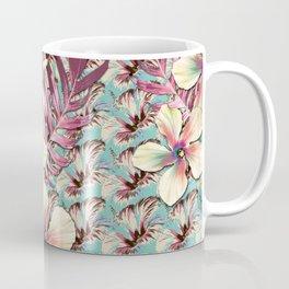 Vintage Hibiscus Ohana Coffee Mug