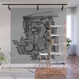 Gnome Wall Mural