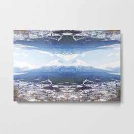Fugi & Symmetry Metal Print