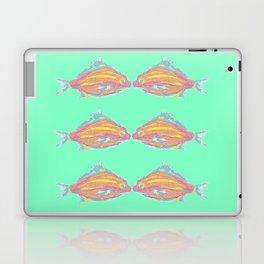 Tropical Fish Seafoam GreenTurquoise Laptop & iPad Skin