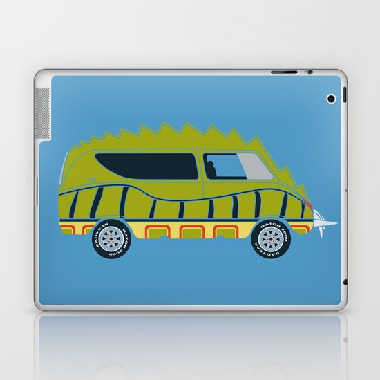 Death Race 2000 Alligator Van Laptop & iPad Skin