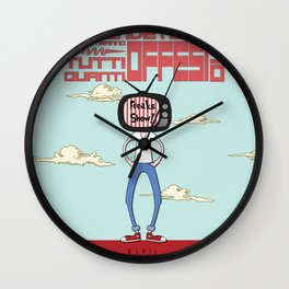 Freaks Show! Wall Clock