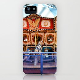 Carousel inside the Mall iPhone Case