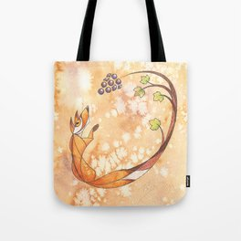 Aesop's Fables - The Fox and the Grapes Tote Bag