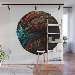 Abstract Planet v4 Wall Mural