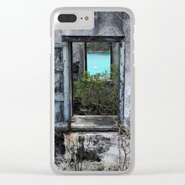 An Unexpected View Clear iPhone Case