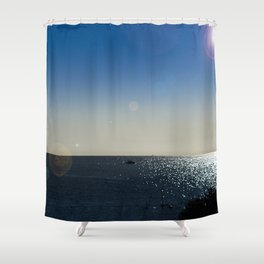 The Mediterranean At Mojacar Shower Curtain