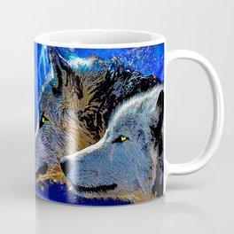 WOLF AND LIGHTENING Coffee Mug