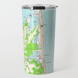 Vintage Map of Bethany Beach Delaware (1954) Travel Mug
