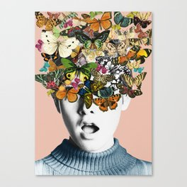 Twiggy Surprise Canvas Print