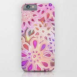 Pink Blooms iPhone Case