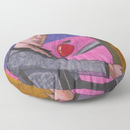 Romancing The Stone Floor Pillow