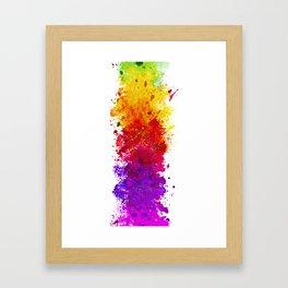 Color me blind Framed Art Print