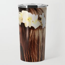 Hawaiian Girl Travel Mug