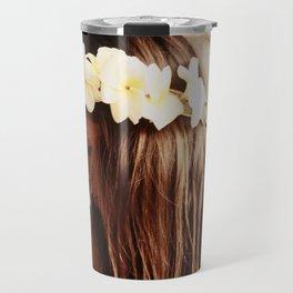 Hawaiian Girl Travel Mug