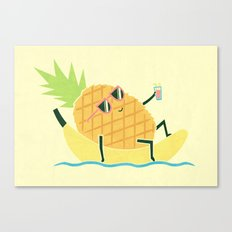 Summer Chillin Canvas Print