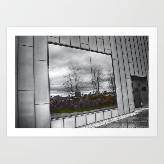 Reflected World Art Print
