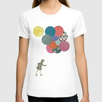 party T-shirts featuring Party Girl by Cassia Beck