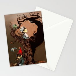 Over The Garden Wall- Wirt, Greg, Beatrice, and The Beast Stationery Cards