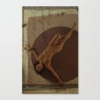 letter Canvas Prints featuring Letter by Misha Dontsov