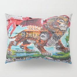 Detroit Chimera ( kī-ˈmir-ə ) Pillow Sham