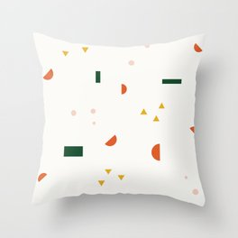 Pattern Experiment 3 Throw Pillow