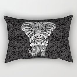 elephant with aztec pattern Rectangular Pillow