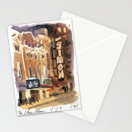 The Neil Simon Theatre - Broadway Stationery Cards