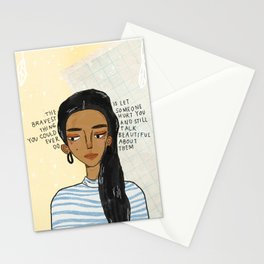 Bravest Girl Stationery Cards