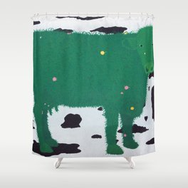 Cow II Shower Curtain